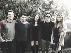 Jake Short, Bradley Steven Perry, Kelli Berglund, Billy Unger and Paris Berelc