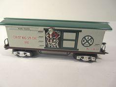 MARX TRAINS 12931 CHRISTMAS BOXCAR 1993 O-GAUGE #X4871