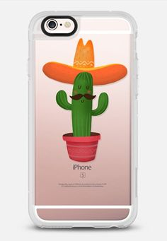 Mexico cactus - New Standard Case in Clear and Clear by Nadya | @casetify