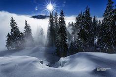 Somewhere in the legendary Carpathian Mountains of Transylvania Carpathian Mountains, Romania, Winter Wonderland, Jacuzzi, Montana, Skiing, Waterfall, Camping, World