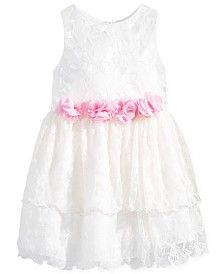 Nannette Tiered Lace Dress, Little and Toddler Girls