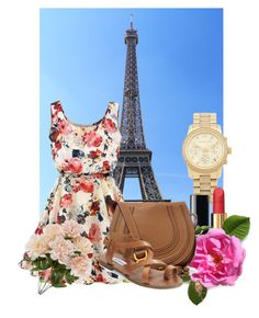 """:)"" by martinapetkovic ❤ liked on Polyvore featuring beauty, Michael Kors, Chanel, Chloé and Steve Madden"