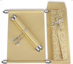 SC-071, #Scroll Cards Are The Royal And Unique Way Of Invite Guests.......