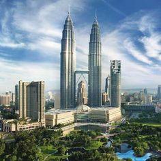 Das Mandarin Oriental in Kuala Lumpur, Malaysia. Direkt neben den Twin Towers in einer traumhaften Parkanlage gelegen.