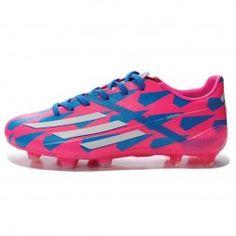 d1f461abe Adidas F50 Adizero TRX FG Mens Soccer Cleat M17677 Neon Pink-White-Blue Mens
