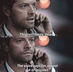 Supernatural - CAS Look at how cute am innocent he is in this ep