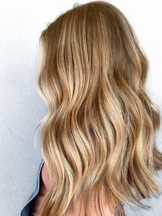 Blonde Balayage, Blonde Hair, Hair Inspo, Hair Inspiration, Long Wavy Hair, Beach Hair, Hair A, Cut And Color, Hair Looks