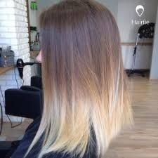 tie and dye blond sur cheveux chatain clair coiffures la mode de cette saison. Black Bedroom Furniture Sets. Home Design Ideas