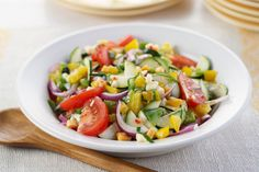 Mediterranean Marinated Vegetable Salad Receta