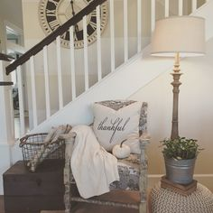 Cozy corner, so welcoming for fall! Interior design by Janna Allbritton of Yellow Prairie Interior Design, LLC.