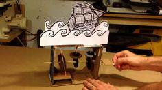 Cardboard Ship Automaton