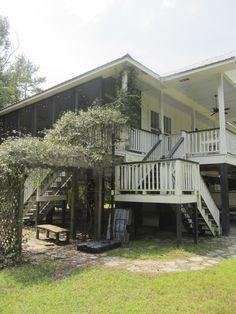 Raised Cottage On Weeks Bay In Fairhope Alabama