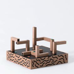These simple, wooden blocks designed by Royal College of Art graduate Václav Mlynář's contain a bridge to a hidden world that can only be unlocked by iPad