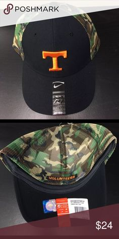 Tennessee Volunteers Nike Camo Hook Flex-Fit Hat Tennessee Volunteers Nike Camo Hook Flex-Fit Hat. Save money by bundling with other items. Nike Accessories Hats