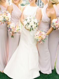 bridesmaids in mauve | photography: Lauren Kinsey Fine Art Wedding Photography - laurenkinsey.com