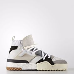 Adidas Originals AW BBALL White Size UK 9 / US 9.5 / EUR 43 1/3 #AdidasOriginalsAlexanderWang #TrainersSneakersBasketballShoes