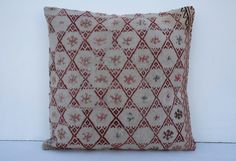 antique kilim,home decor  pillows,sofa pillow,embroidered pillow,throw pillow,bench cushion cover,kilim lumbar pillow,chair cushion,pillow, by CUSHIONNEST on Etsy https://www.etsy.com/listing/208239937/antique-kilimhome-decor-pillowssofa