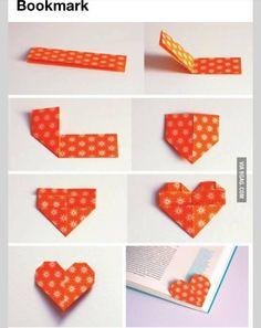 Super cute easy DIY book mark