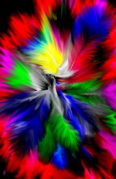 reminds me of the paint spinner pics i used to make at the beach----only a million times more awesome!!