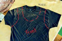 Sewing Stitches For Beginners Diy Shirts No Sew, T Shirt Diy, Braided T Shirts, Shirt Transformation, Hand Sewing Projects, Diy Projects, Sewing Stitches, Clothing Patterns, Clothing Ideas