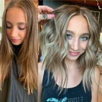MAKEOVER: Lived-In Balayage and Long Chop For the Young Client Fighting Her Way Back from a Devastating Accident, Her Love for Hair Drives Her - Stylist Spotlight - Modern Salon Creamy Blonde, Icy Blonde, Cool Blonde, Bright Blonde, Blonde Color, Nordic Blonde, Balayage Color, Balayage Hair, Blonde Hair
