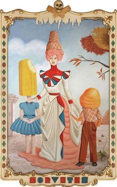 rafael silveira pintura oleo e acrilico ilustração molduras surrealismo dionisio arte (19)