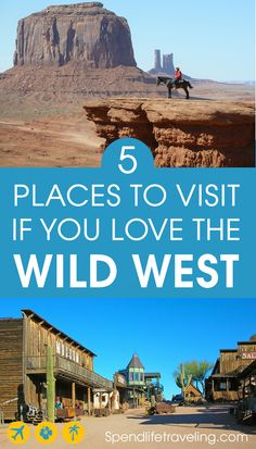 The American Wild West is featured so often in Hollywood films and on TV that many of us feel like we know it very well – the cowboys, the gun fights, the drinking establishments, the horses and wagons… But where do you travel to if you want that real Old West experience in the USA? #traveltips #wildwest #oldwest #travelusa