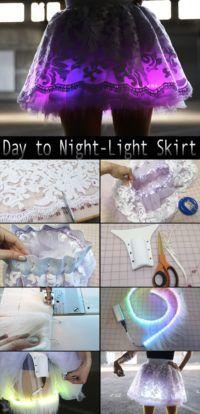 Day to Night-Light Skirt