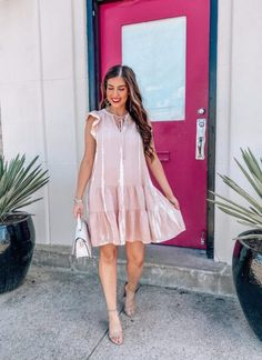 Modest Outfits, Classy Outfits, Spring Dresses, Spring Outfits, Rust Color Dress, Sophisticated Outfits, Stylish Clothes For Women, Target Dresses, Shower Dresses