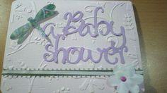 Baby shower invitation - garden theme