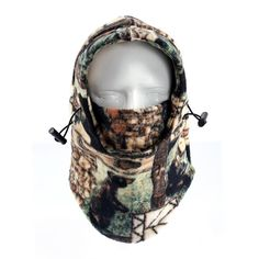 Tofern Multi Use Balaclava Thermal Warm Fleece Camo Hood Cycling Motocycling Ski Hunting Outdoors Winter Sports Head Neck Warmer Full Face Masks *** Check this awesome product by going to the link at the image. (This is an affiliate link) Cycling Mask, Cycling Bibs, Sports Head, Sport C, Women Accessories, Fashion Accessories, New Bicycle, Full Face Mask, Face Masks