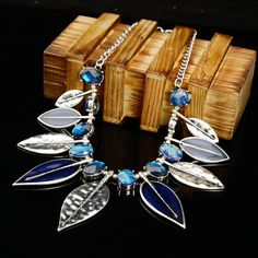 Check out this Fascinating and Shapely leaf #Necklace for any outfit.