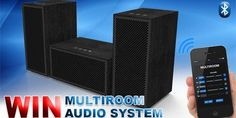 Win Multiroom Audio System Contest - November 2016 {US}... sweepstakes IFTTT reddit giveaways freebies contests