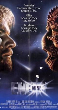 Directed by Wolfgang Petersen.  With Dennis Quaid, Louis Gossett Jr., Brion James, Richard Marcus. A soldier from Earth crash-lands on an alien world after sustaining battle damage. Eventually he encounters another survivor, but from the enemy species he was fighting; they band together to survive on this hostile world. In the end the human finds himself caring for his enemy in a completely unexpected way.