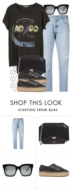 """Sin título #4052"" by hellomissapple on Polyvore featuring moda, RE/DONE, Junk Food Clothing, Givenchy y Akira"