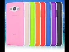 Capa para celular Samsung Galaxy A5 Translucida cores