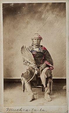 Much-a-tu-ta - Sac & Fox - circa 1867