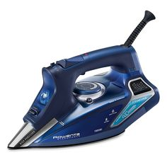 The Steam Force Iron by Rowenta will give you professional ironing results at home. The slick soleplate guarantees an optimum glide in all directions, while an integrated anti-scale valve ensures a consistent flow of steam for better performance an Rowenta Steam Iron, Ferro A Vapor, Online Laundry, Led, Iron Work, Wrinkle Remover, Profile Design, Fibres, Porto