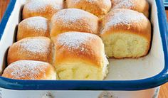 Slovak Recipes, Czech Recipes, Russian Recipes, European Kitchens, Bread And Pastries, Desert Recipes, Hot Dog Buns, Food And Drink, Sweets