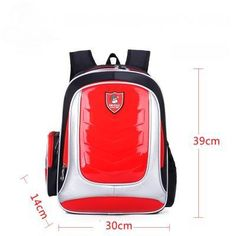 New 2016 Leather Backpacks Orthopedic School bags For Boys girls PU Waterproof Backpack Children Kids School bag