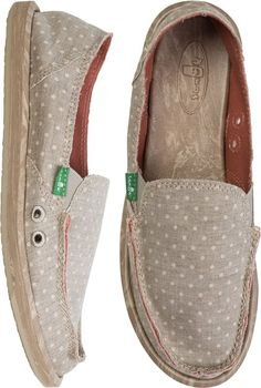 SANUK DOTTY SHOE   http://www.swell.com/SANUK-DOTTY-SHOE?cs=TA