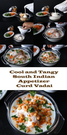 Try this famous South Indian Curd Vadai for a cool, healthy and tangy appetizer.