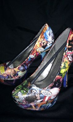 Hey, I found this really awesome Etsy listing at http://www.etsy.com/listing/97516697/marvel-avengers-custom-heels