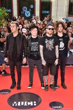 Fall Out Boy.. they're so short I love it <<< I was legit about to type that