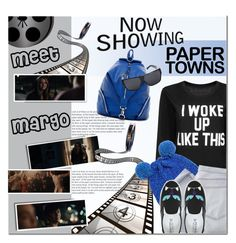 """""""Movie Style: Paper Towns"""" by anna-anica ❤ liked on Polyvore featuring Simonetta, Shine, Chiara Ferragni, Sondra Roberts, Linda Farrow, movie and papertowns"""