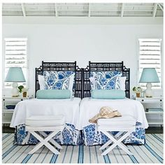 Great beachy bedroom