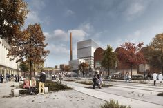Winning Proposal for Finland Bay Masterplan Transforms Industry into Innovation,Courtesy of Schauman & Nordgren Architects + Mandaworks
