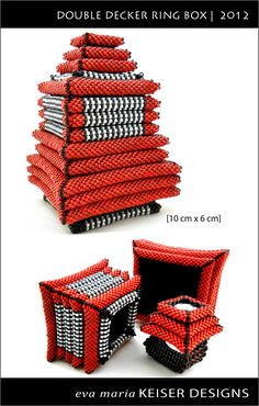 Double Decker Ring Box   2012  By: Eva Maria Keiser Designs