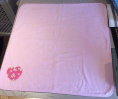 Pretty Fleece Backed Pram/Crib Cover by PatchworkProjects on Etsy
