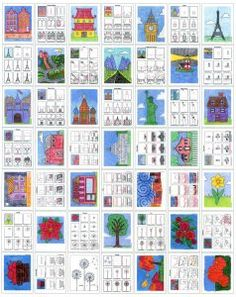 Draw Places and Plants eBook · Art Projects for Kids : Places and Plants diagram Art Lessons For Kids, Projects For Kids, Art For Kids, Art Projects, Art Worksheets, Art Inspiration Drawing, Drawing Lessons, Tour Eiffel, Drawing For Kids